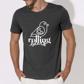 T-Shirt Rolling Beers Homme