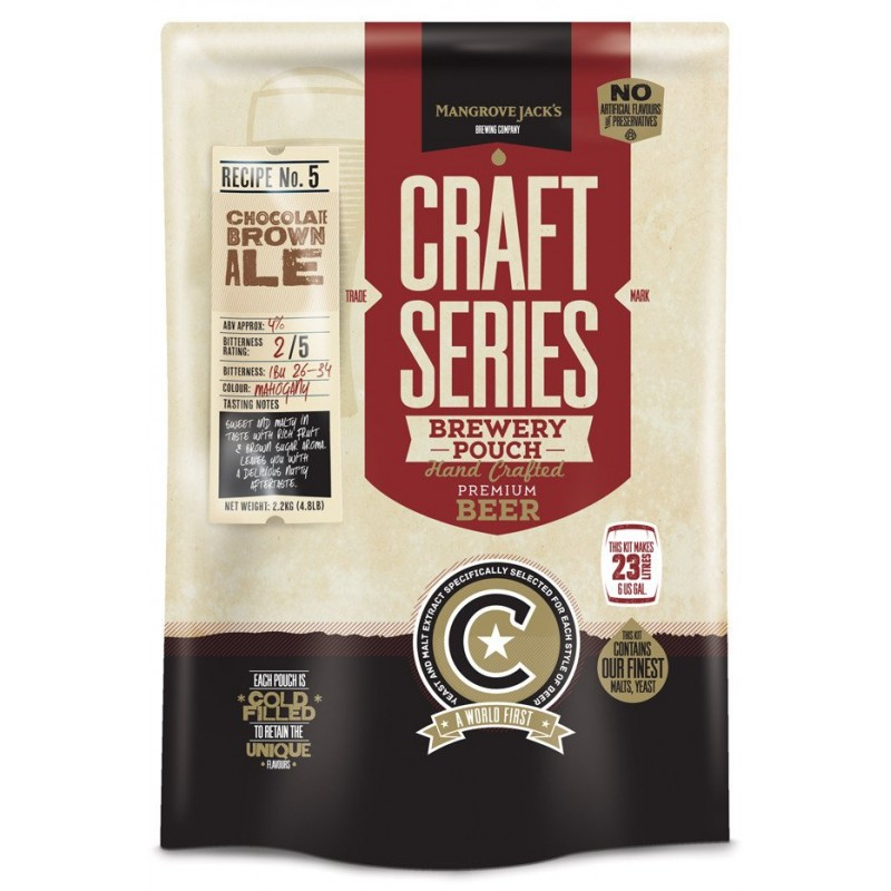 Mangrove Jack's Craft Series Choc Brown Ale Pouch - 2.2kg