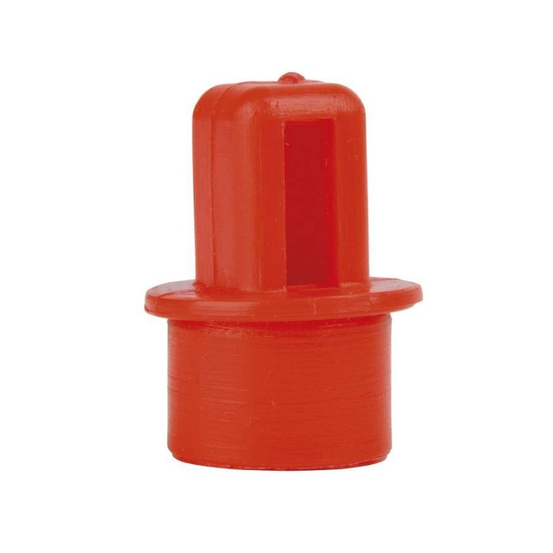 Sediment reducer for tap PVC with backnut