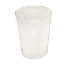 silicone bung - without hole