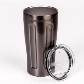 GrowlerWerks uPint™ black chrome