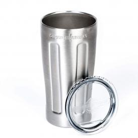 GrowlerWerks uPint™ stainless steel