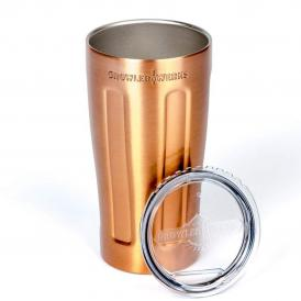 GrowlerWerks uPint™ copper-plated