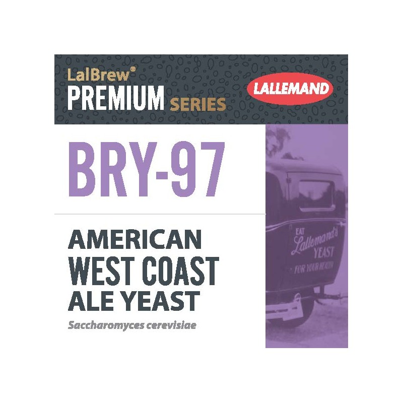 Dried brewing yeast BRY-97