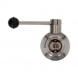 "Brew Monk butterfly valve 1.5"" TC"